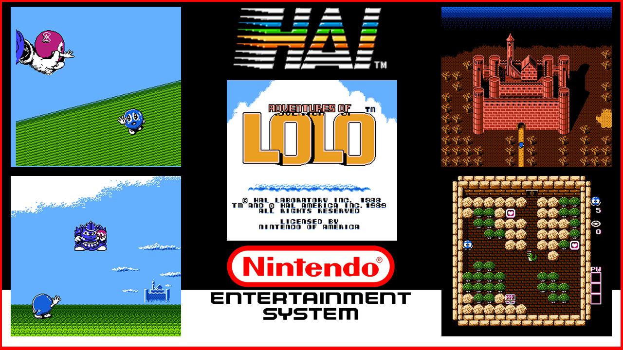 Adventures of Lolo NES