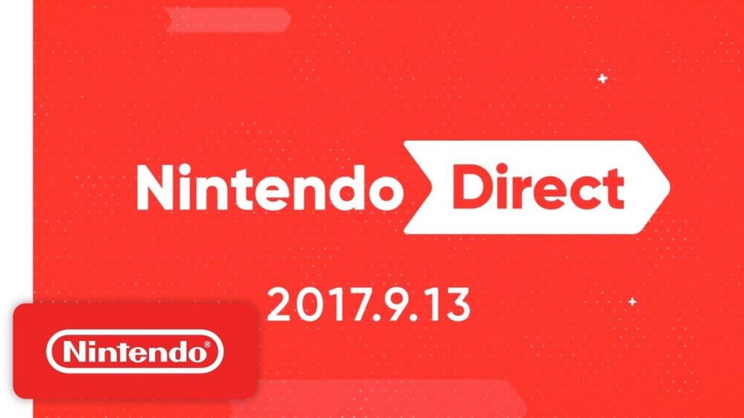 Nintendo Direct del 13 de setiembre de 2017