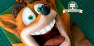 Como hacer un queque de Crash Bandicoot