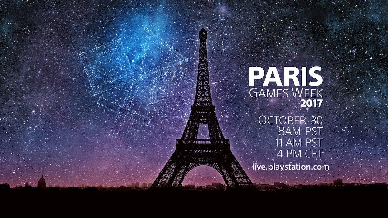 Conferencia de PlayStation desde la Paris Games Week 2017