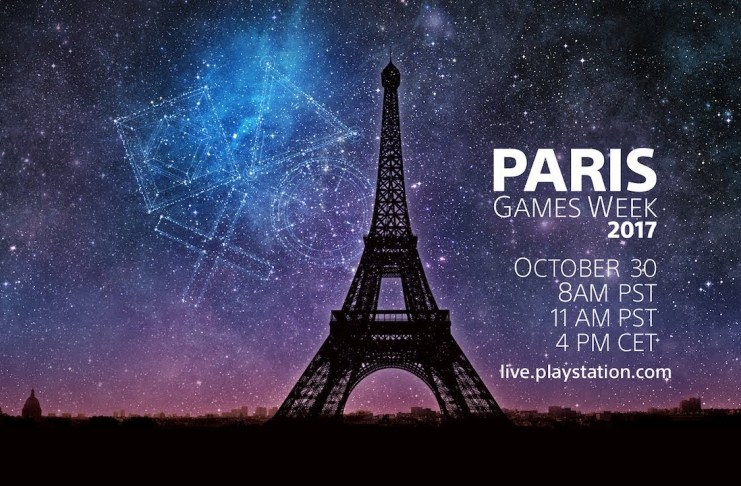Conferencia de PlayStation desde la Paris Games Week 2017