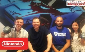 Gameplay de Rocket League para Nintendo Switch y un Tour por el estudio Tour