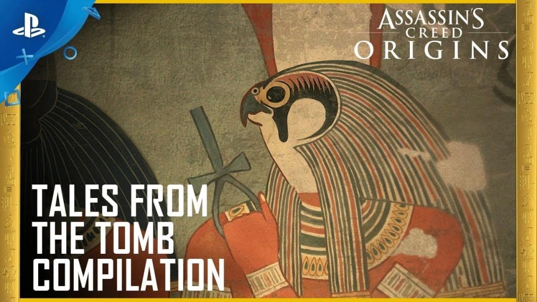 Recopitaltorio de las historias de ultratumba de Assassins Creed Origins