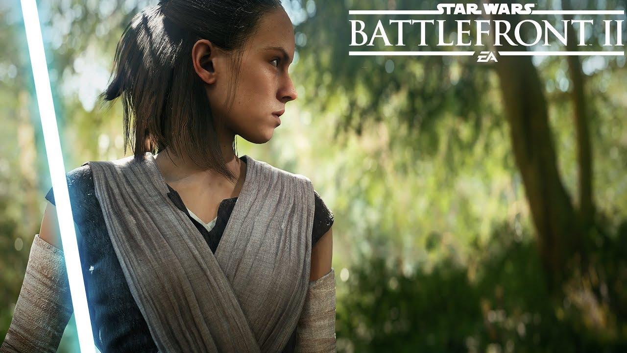 Star Wars Battlefront 2 tráiler de lanzamiento
