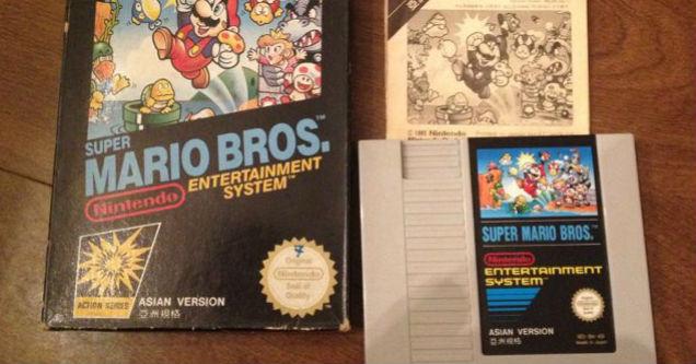 Super Mario Bros. (versión asiatica)