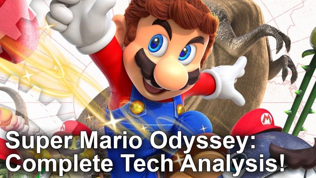Super Mario Odyssey un análisis técnico realizado por DigitalFoundry