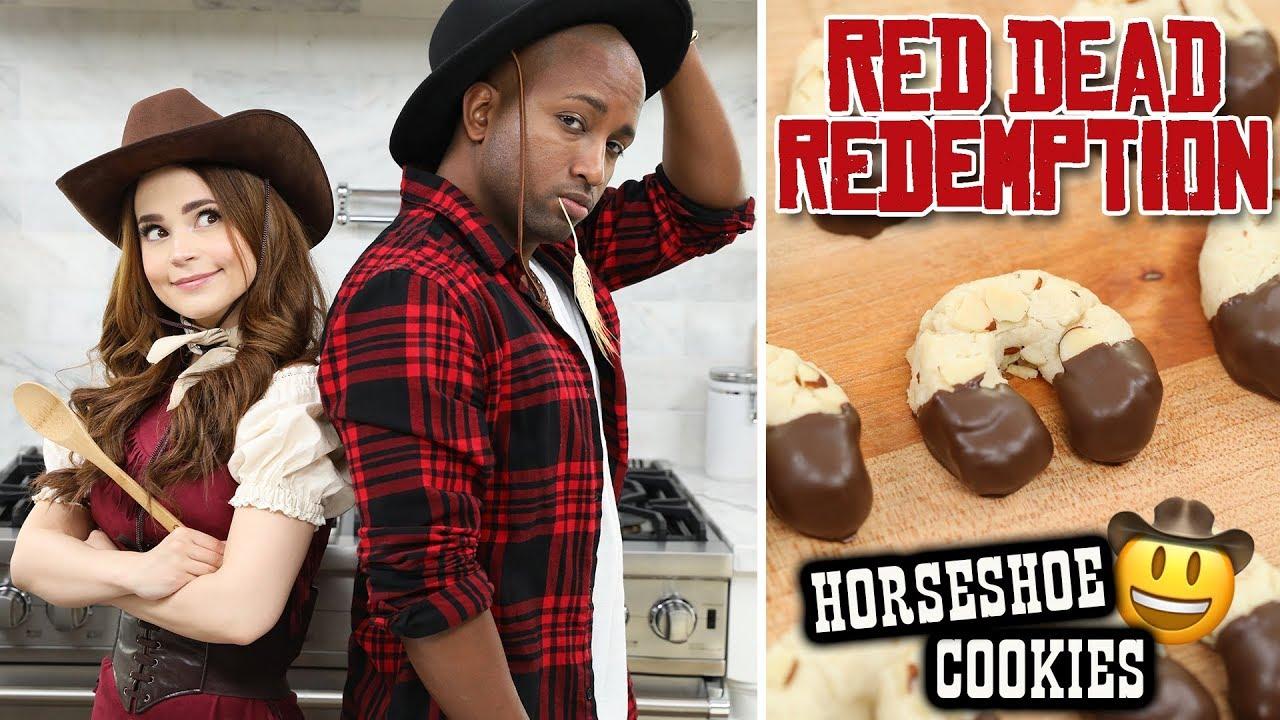Galletas de herraduras inspiradas en Red Dead Redemption
