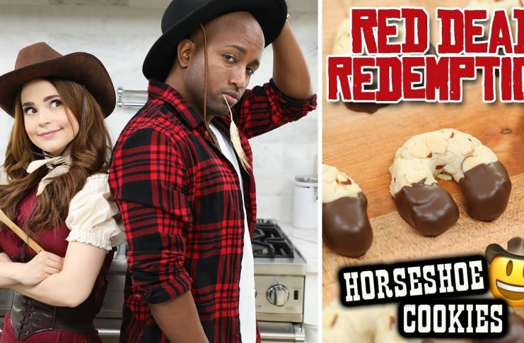 Galletas de herraduras inspiradas en Red Dead Redemption