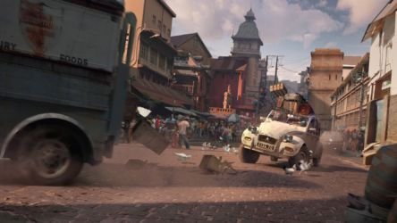 Uncharted 4: A Thief's End-Market Chase