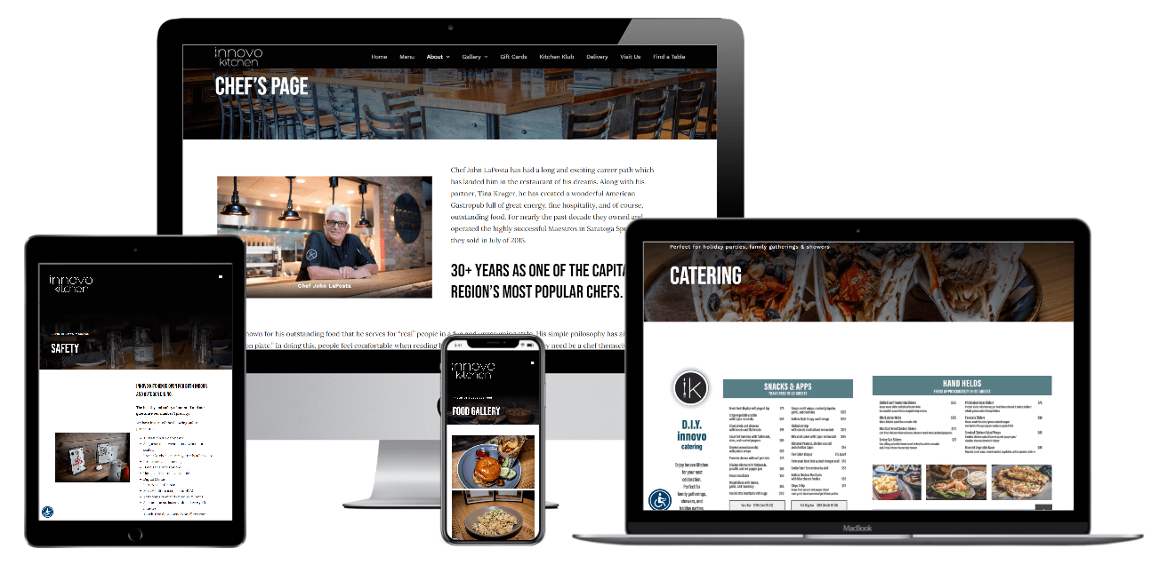 Restaurant Website Design Albany NY - Capital District Digital