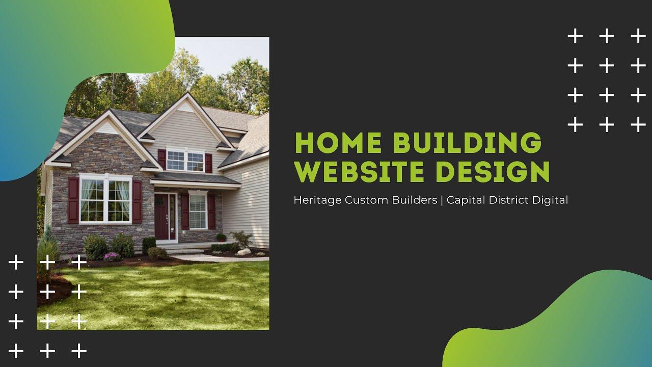 Home Builder Website Design Clifton Park, NY