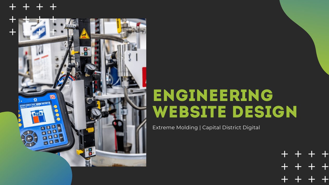 Extreme Molding Engineering website design services in albany, ny at capital district digital