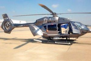 Helicóptero bimotor polivalente EC145 T2 de Eurocopter
