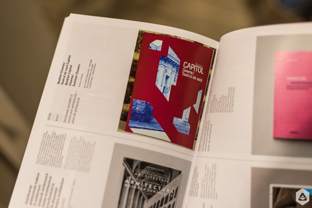 Lansare catalog Anuala de Arhitectura 2016-2017
