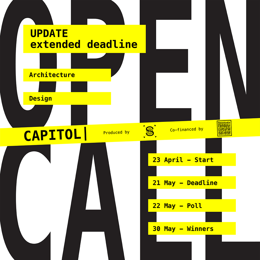 open call CAPITOL ARCHITECTURE + DESIGN [EXTENDED DEADLINE]