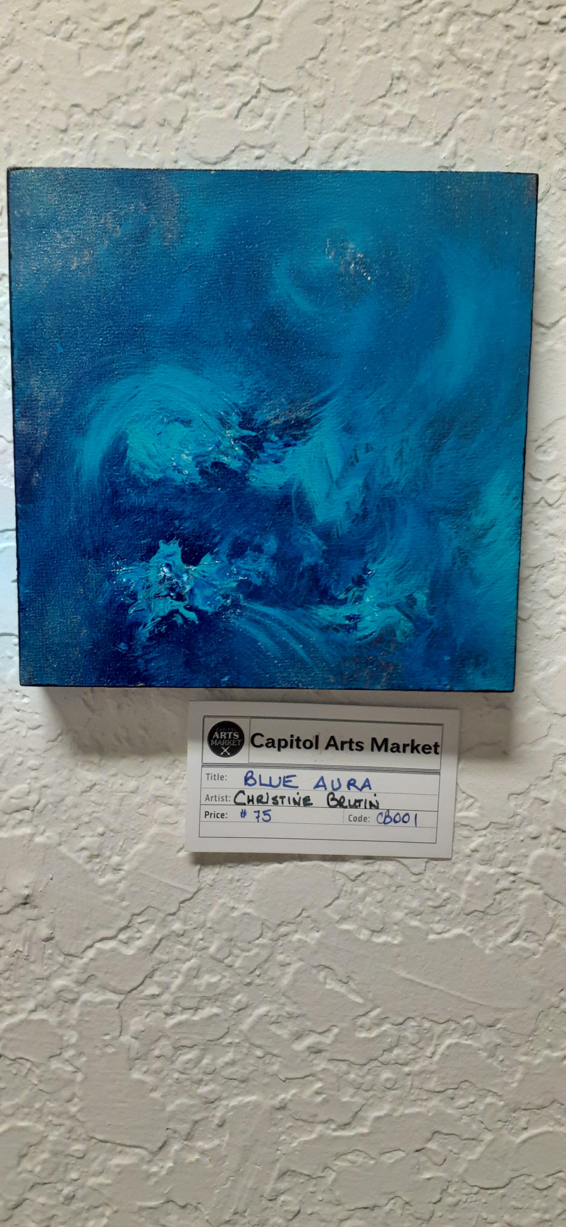 Blue Aura Christine Brutin CB001 $75.00