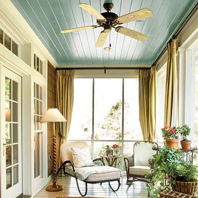 Blue Porch Ceilings Capitol City Homes