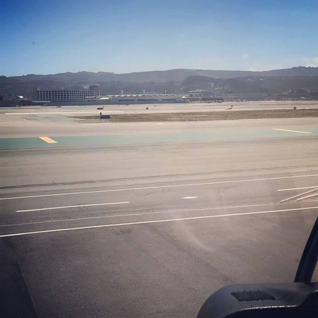 View of San Francisco International Airport