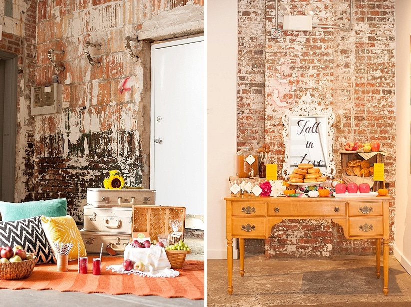 Alternative, Bohemian Brunch Wedding Inspiration & Ideas