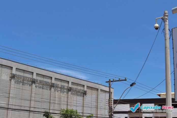 Câmeras de vídeomonitoramento não garantem segurança em Marataízes.
