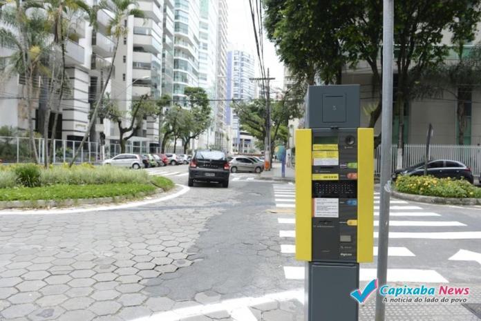 Parquímetros de Bento Ferreira começam a funcionar nesta segunda (31) em Vitória