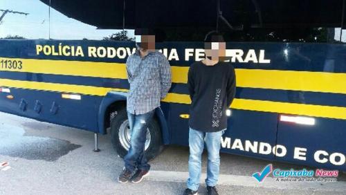 Dois procurados pela polícia são presos na BR-101 Sul