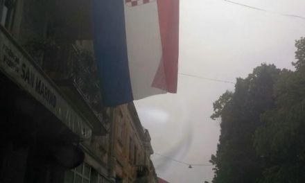 Hrvatska zastava uljepšala Čapljinu