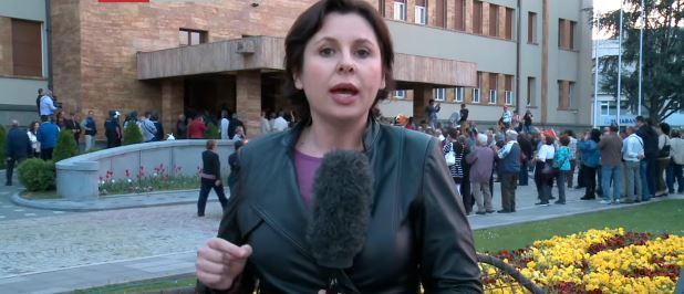 Prosvjednici upali u makedonsku skupštinu i stolicama napali zastupnike