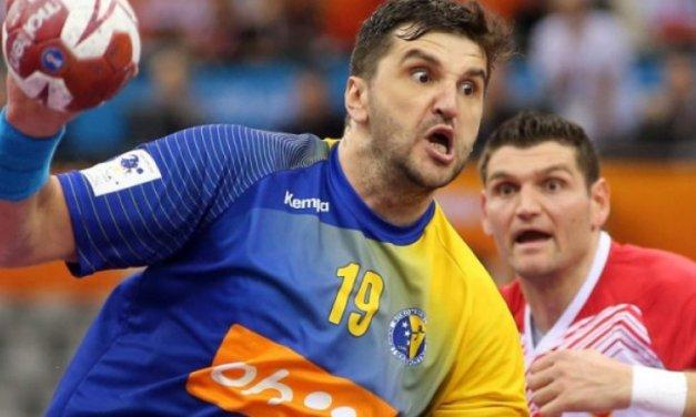 Nikola Prce zabio prvih pet golova za BiH na Europskom rukometnom prvenstvu