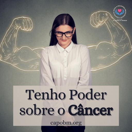 poder sobre o câncer