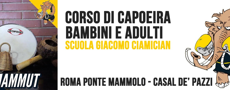 Corso di Capoeira a Roma Ponte Mammolo