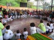 Integração comunidade-escola; integração cultura e educação.