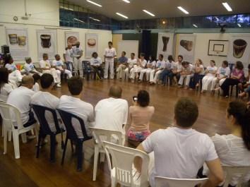 Roda de conversas e homenagem aos mestres do saber, no Cepeusp. 04.02.2014.