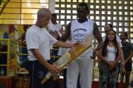 Mestre Dorival e Paulinho Baraúna, dez/2013