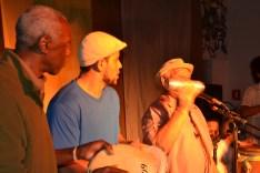 Mestre Alcides, Pança e Mestre Durval do Coco.