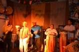 Mestre Durval do Coco, Pança e Eliane do Coco.