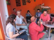 Reunião do CEACA para produção partilhada de conhecimento.6.7.14