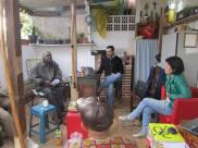 Alcides, Valter e Katiane. Reunião 9 de Agosto 2014 - casa do Edison.