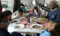 Crianças também participaram do encontro
