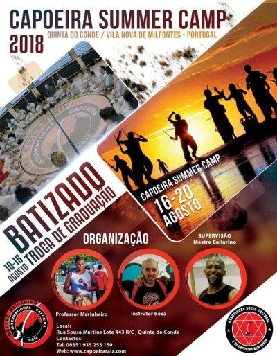 Capoeira Summer Camp
