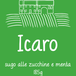 Icaro - crema di zucchine e menta3,90€/vasetto