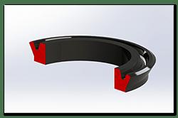 Aprilia Caponord ETV1000 Rally-Raid 3D cutaway slave seal