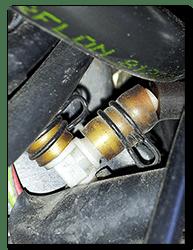 Aprilia Caponord ETV1000 Rally-Raid vacuum pipes