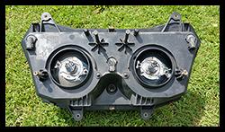 Aprilia Caponord ETV1000 headlight