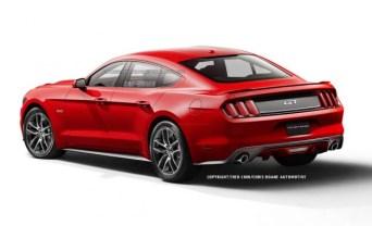 A pesar de haber siempre mantenido su línea deportiva, Ford podría lanzar un Mustang de 4 puertas pronto