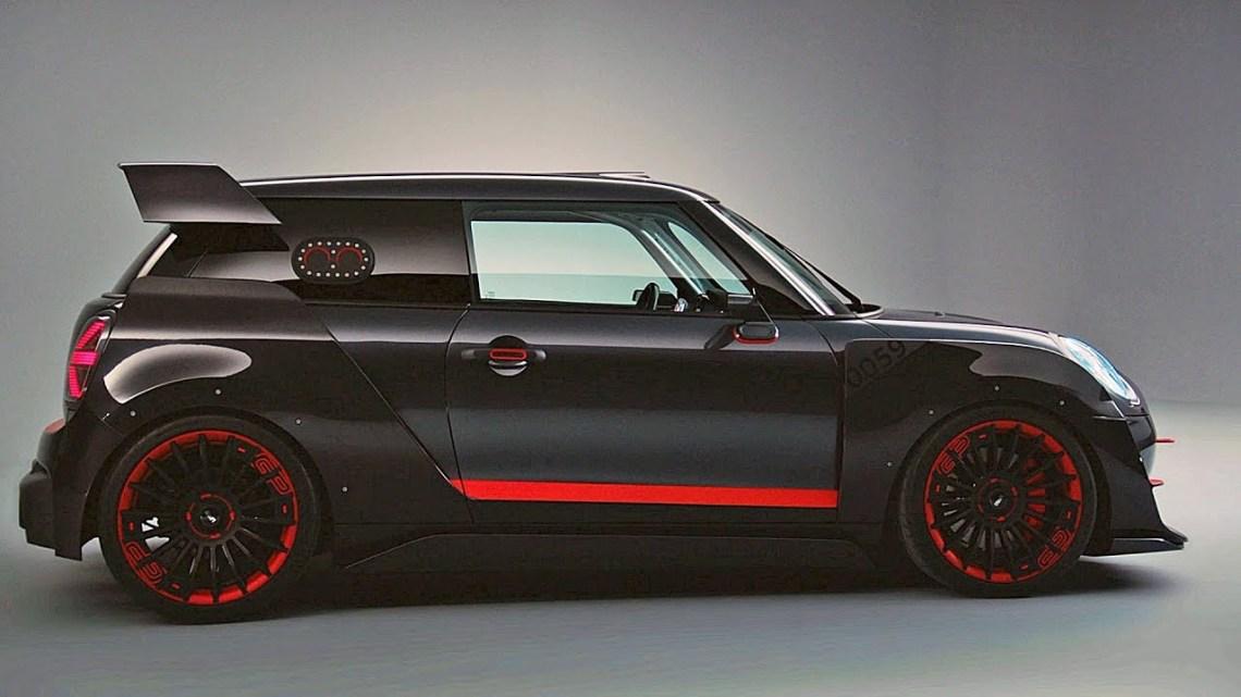 El Mini Cooper Works GP 2020 tendrá al menos 300 caballos de fuerza y un enorme alerón trasero