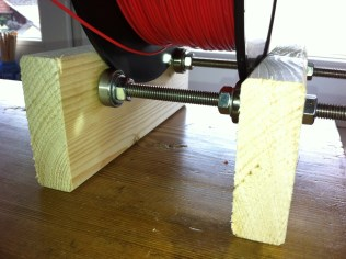 Wooden Filament spool holder