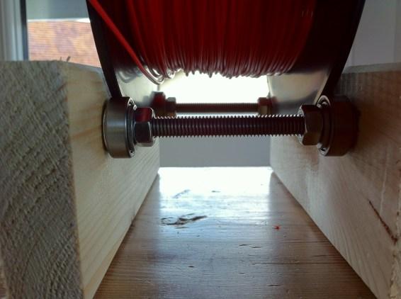 Wooden Filament spool holder