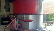 VCR head drum filament spooler
