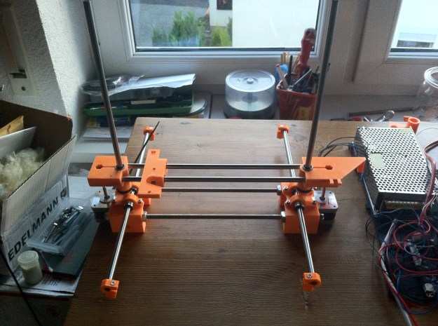 RepRap Wallace stripped